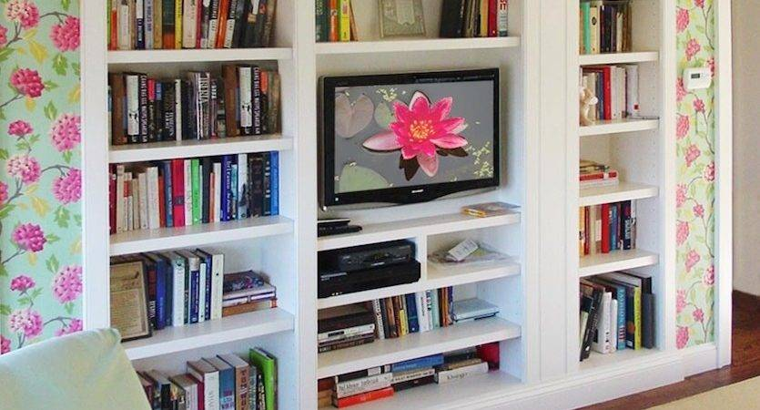 Built Bookshelf Decorating Ideas Decobizz