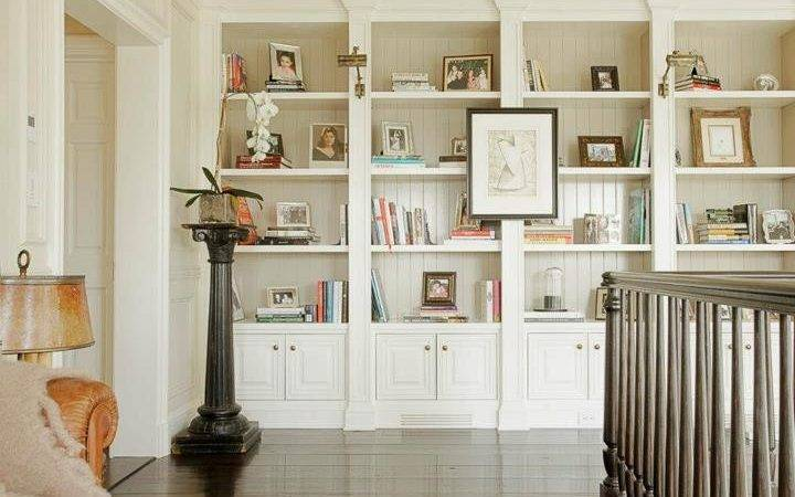 Built Bookshelves Design Ideas