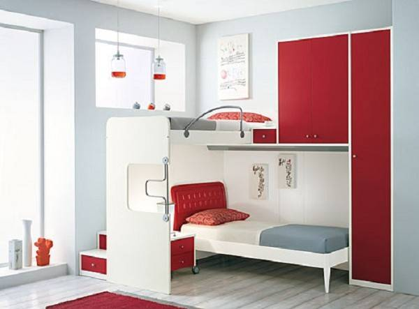 Bunk Bed Ideas Small Rooms Home Design Inside