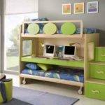 Bunk Beds Small Rooms Also Bed Designs Arttogallery