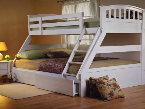 Bunk Beds Space Saving Small Rooms Bed
