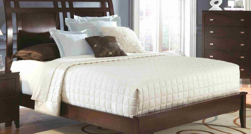 Calvin King Low Profile Bed Sloped Headboard Tapered
