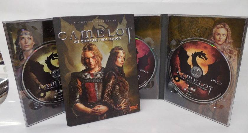Camelot Complete First Season Dvds Starz Original Series