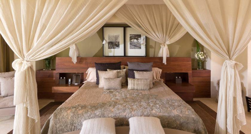 Canopy Bed Curtains Fabulous Ideas