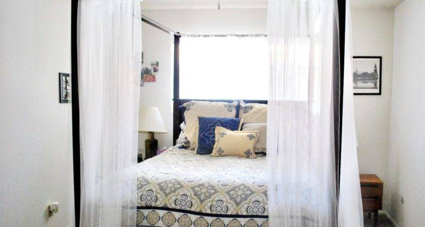 Canopy Bed Curtains Hello Lovely