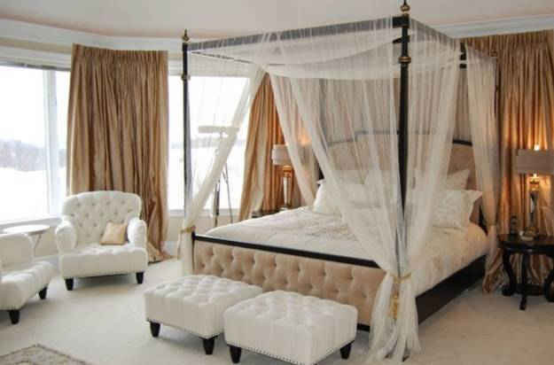 Canopy Bed Designs Adding Romance Modern Bedroom
