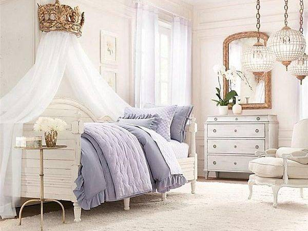 Canopy Bed White Curtains Decoist