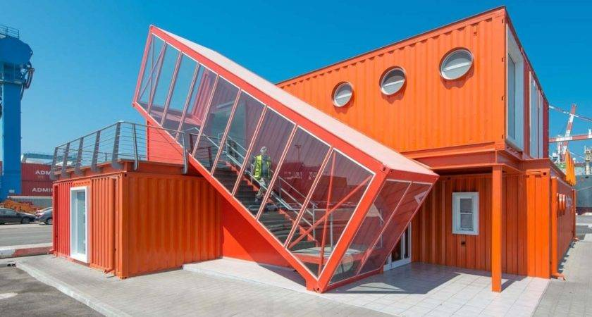 Cargo Container Buildings House Design
