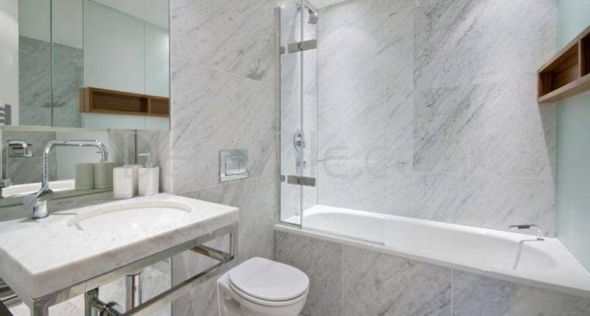 Carrara Marble Bathroom White