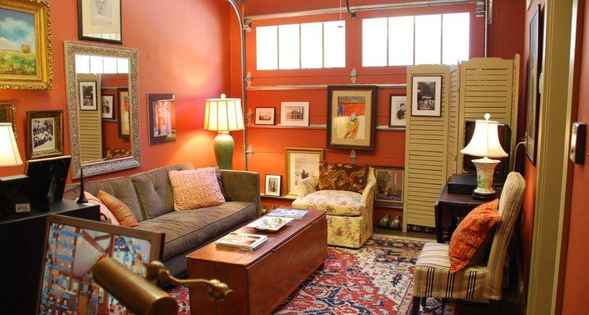 Carriage House First Floor Man Cave Gets Makeover