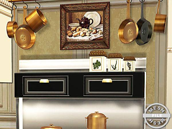 Cashcraft Country Kitchen Stoves Hanging Potspans Mesh