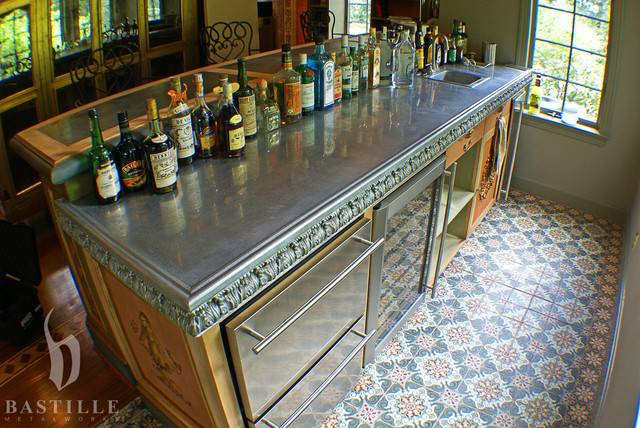 Cast Pewter Countertop Lancaster Kitchen Countertops
