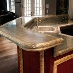 Cast Pewter Countertop Philadelphia Traditional