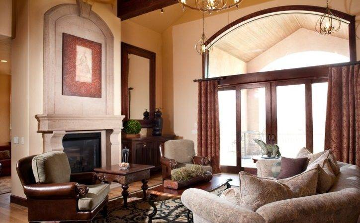 Cathedral Ceilings Living Room Traditional High