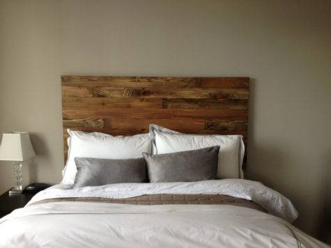 Cedar Barn Wood Style Headboard King Handmade