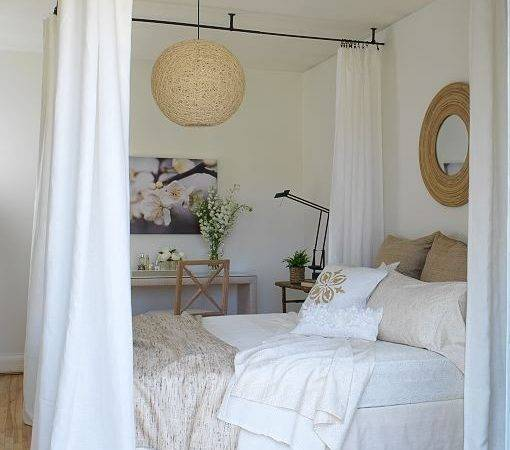 Ceiling Bed Canopy Cottage Bedroom Margot Austin