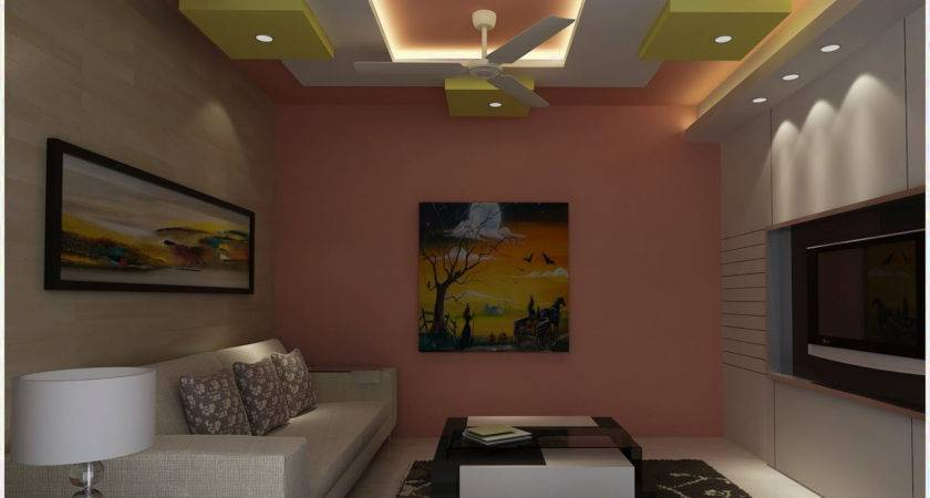 Ceiling Pop Designs Small Room Home Combo