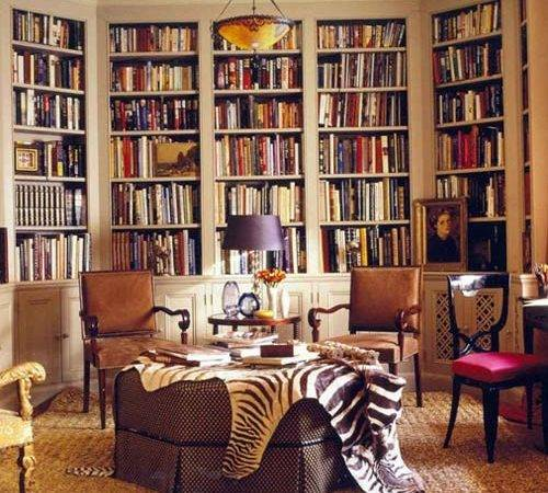 Centered Librarian Beautiful Collection Home