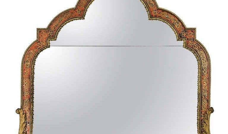 Century Boulle Well Shaped Mirror Stdibs