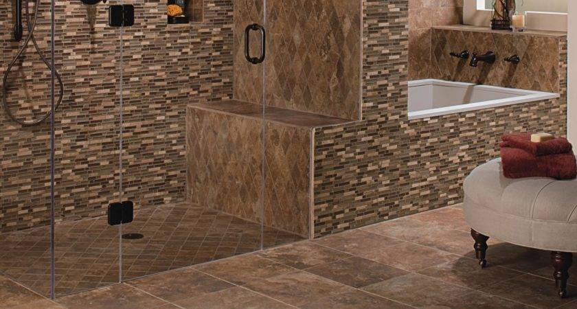 Ceramic Tile Bathroom Floors Design Choose