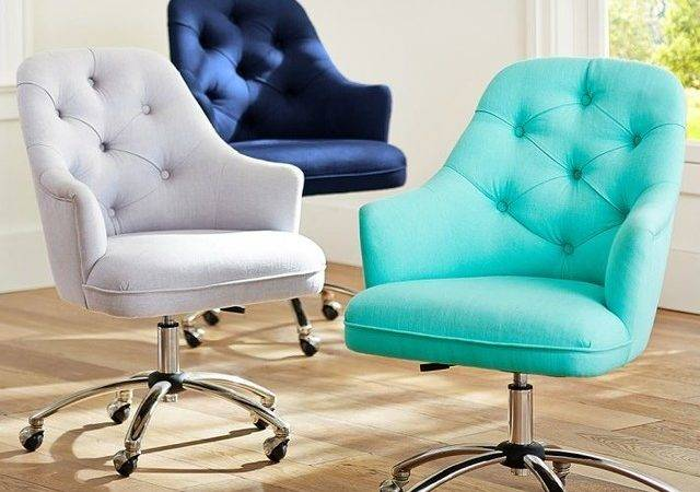 Chairs Teen Bedrooms Tufted Desk Chair Contemporary