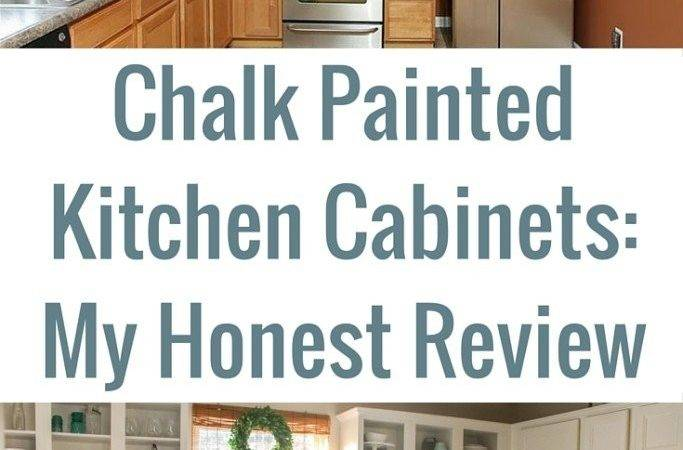 Chalk Painted Kitchen Cabinets Review Charming