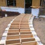 Chapter Build Curved Wooden Walkway Summer