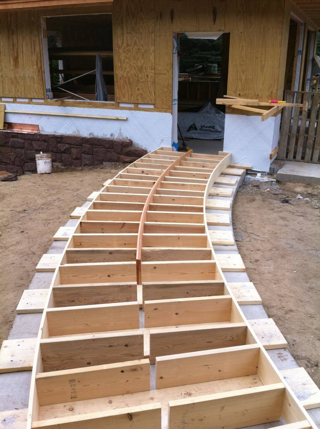 Chapter Build Curved Wooden Walkway Summer - The Inductive