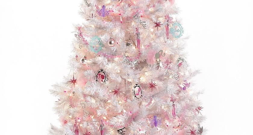 Charitybuzz Barbie Winter Sparkle Holiday Tree Lot