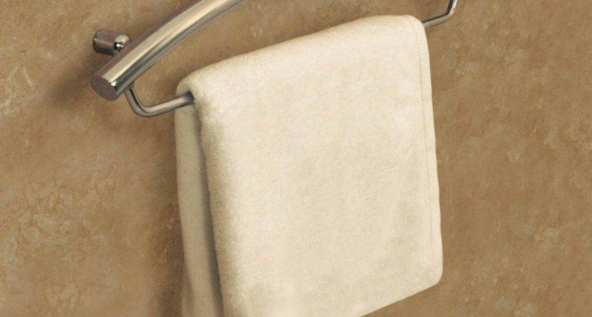 Charming Contemporary Curved Stainless Steel Towel Hooks