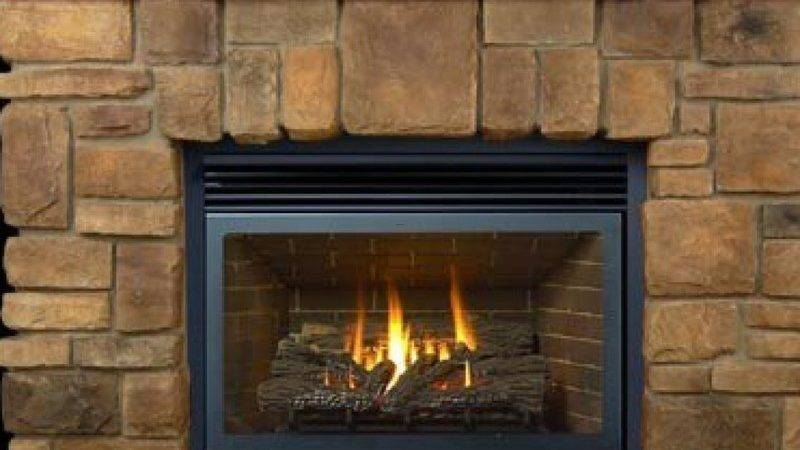 Charming Fieldstone Fireplace Design Ideas Mixed