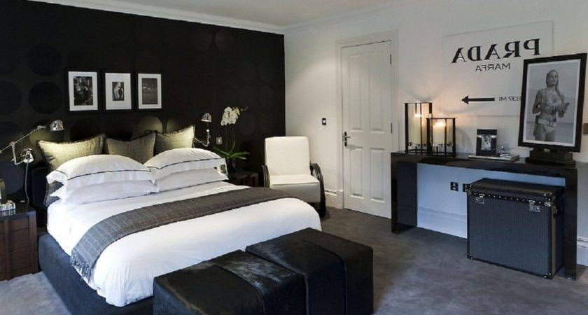 Charming Mens Bedroom Ideas Also Double Bed White