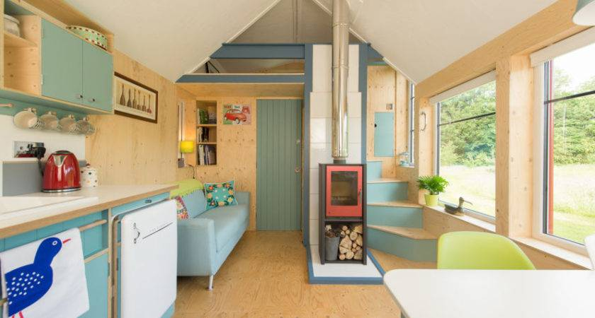 Charming Off Grid Scandinavian Inspired Tiny Home