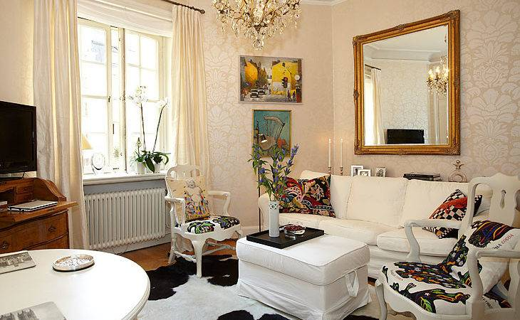 Charming Small Apartment Lovely Alcove Stockholm