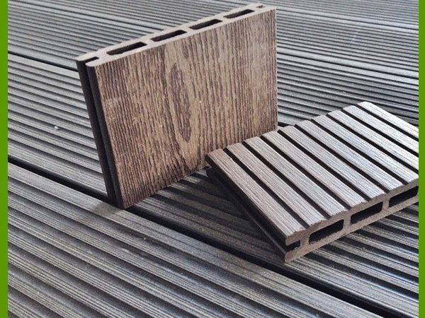 Cheap Composite Decking Material Wpc Manufacture Exterior