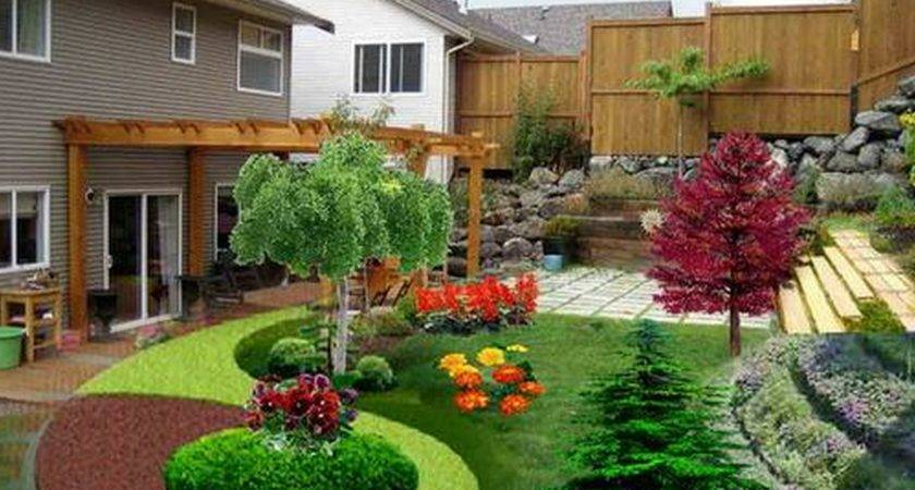 Cheap Landscaping Outside Front House Porch Ideas
