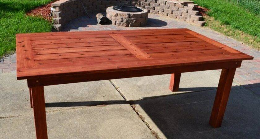 Cheap Solid Wood Patio Table Design Used Tables
