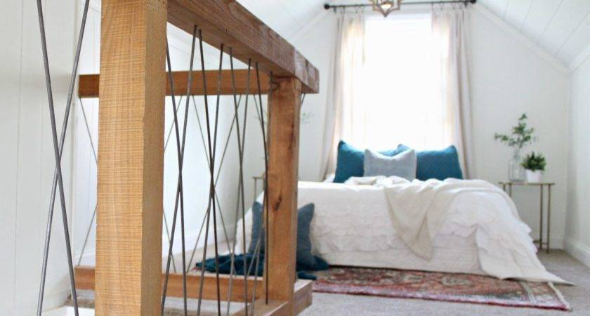 Chesterfield Cottage Reveal Part Attic Bedroom