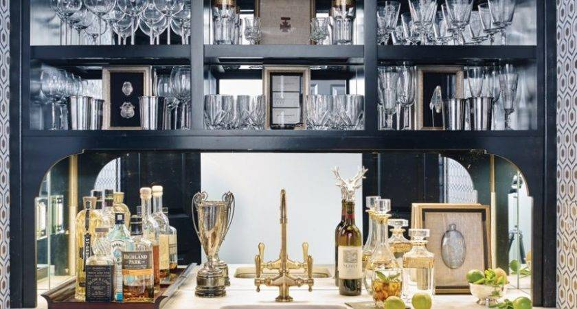 Chic Home Bar Designs Need Believe