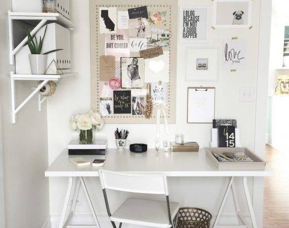 Chic Home Office Inspiration Savvy Sassy Moms