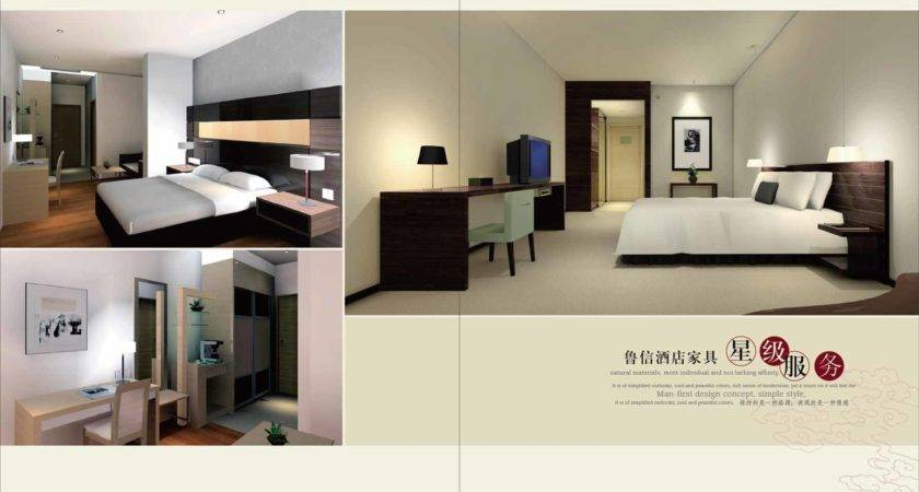 China Luxury Wooden Modern Hotel Furniture Suite
