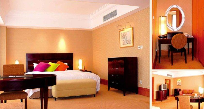 China Modern Wooden Hotel Furniture Standard Suite Series