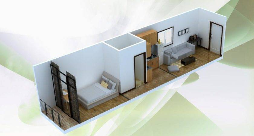 China Single Container House