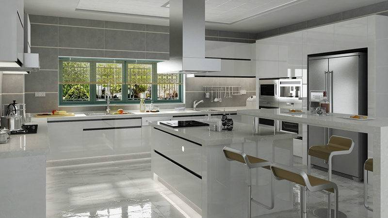 China Welbom Modern European High Gloss Kitchen