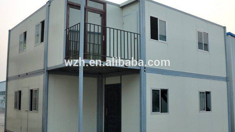 China Wzh Strong Steel Frame Shipping Container Homes