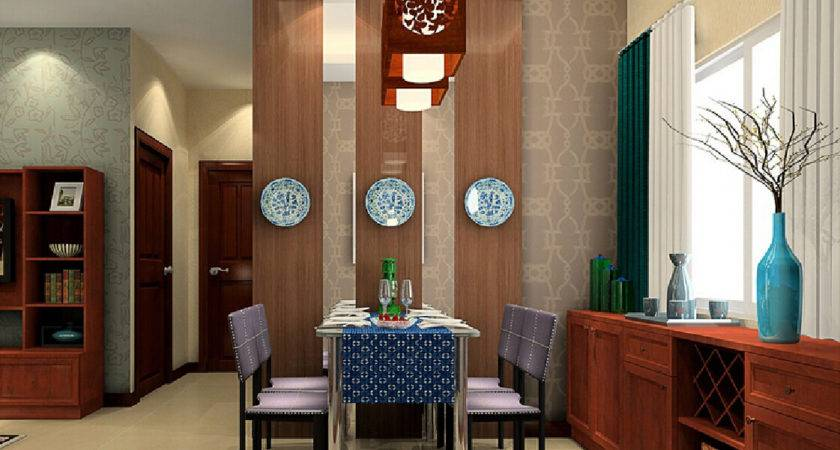 Chinese Neoclassical Style Dining Room Design
