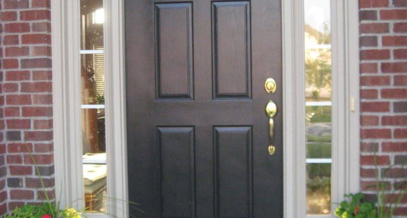 Choose Front Door Sidelights Interior