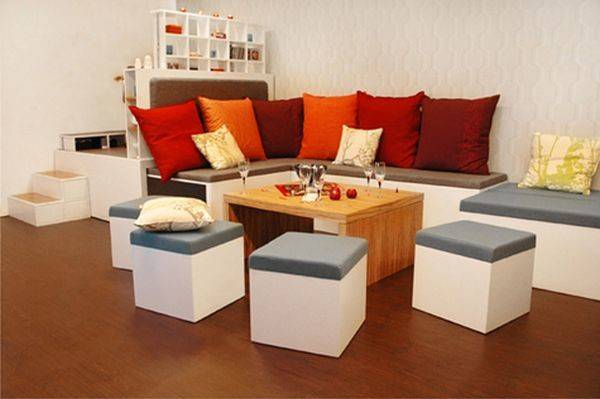 Choose Modern Furniture Small Spaces