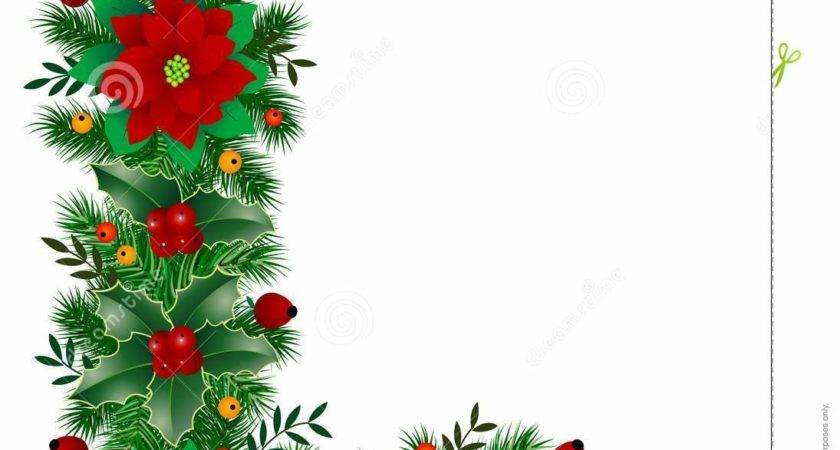Christmas Decoration Vector Leaf Holly