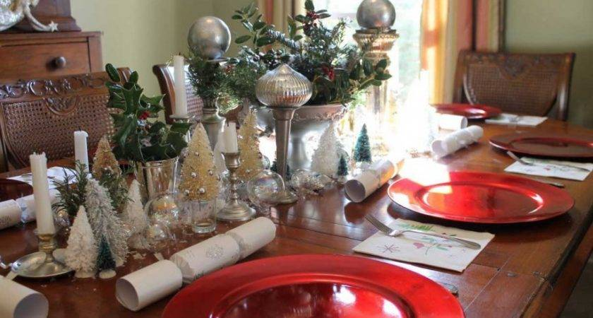 Christmas Dinner Table Decoration Ideas All